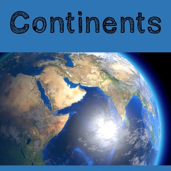 Geography Lesson Plan: Introduction to the Continents