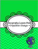 Geography Lesson Plan - Population Change