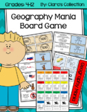 Geography Mania Board Game (World Geography and Human Geography)