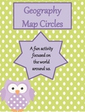 Geography Map Circles