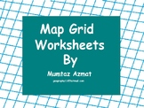 Geography: Map Grid Worksheets:
