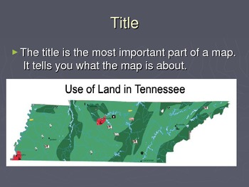Geography-Map Parts/Elements