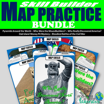 Geography Map Practice Bundle