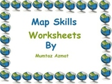 Geography Map Skill Worksheets: