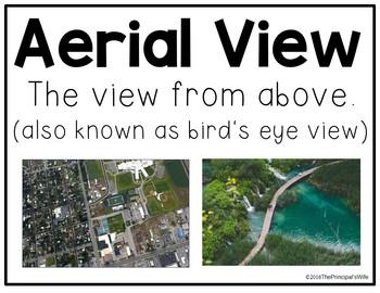 Map Skills: Aerial View