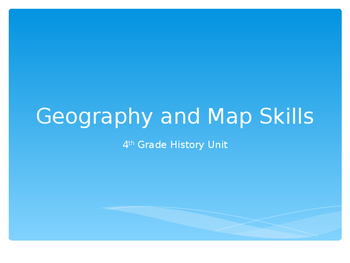 Geography/Map Skills Powerpoint
