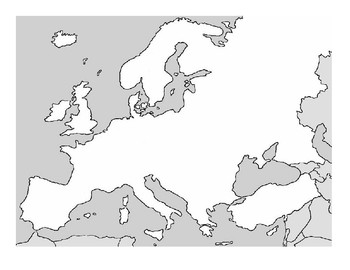 Geography Mapping Assignment #3 of 10 (Europe in the 19th Century)