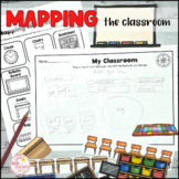 Map the Classroom Geography Prepositional Map Making