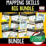 Geography Mapping Skills BUNDLE (World Geography Bundle)