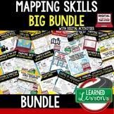 Geography Mapping Skills BUNDLE (World Geography Bundle)