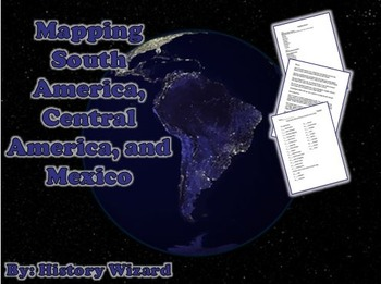 Geography: Mapping South America, Central America, and Mexico