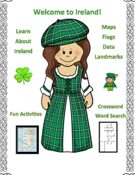 Geography, Maps, Flag, Assessment on Ireland - Map Skills