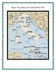 Geography, Maps, Flag, Assessment on Italy - Map Skills an