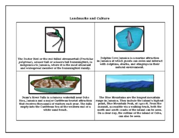 Jamaica Geography, Maps, Flag, Assessment  - Map Skills and Data Analysis