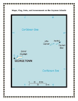 Cayman Islands Geography Maps, Flag, Assessment - Map Skills and Data Analysis