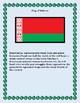Geography Maps, Flag, Data, Assessment on Belarus  - Map Skills Data Analysis