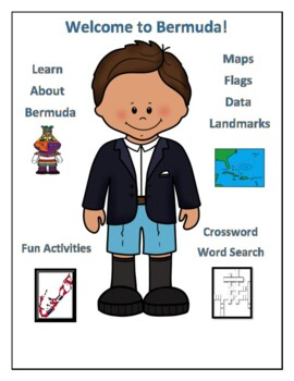 Bermuda Geography Maps, Flag, Data, Assessment - Map Skills Data Analysis