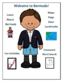 Bermuda Geography Maps, Flag, Data, Assessment - Map Skills Data Analysis