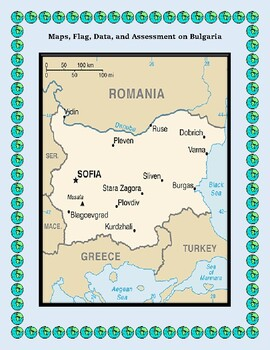Bulgaria Geography Maps, Flag, Data, Assessment - Map Skills Data Analysis