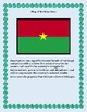 Burkina Faso Geography Maps, Flag, Data, Assessment - Map Skills Data Analysis