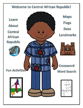 Central African Republic Geography Maps, Flag, Data, and Assessment