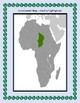 Geography Maps, Flag, Data, Assessment on Chad  - Map Skills Data Analysis