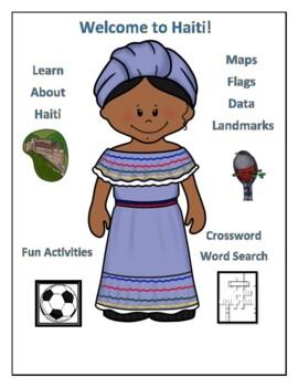Haiti Geography Maps, Flag, Data, Assessment - Map Skills and Data Analysis