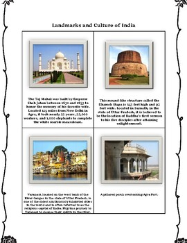 India Geography Maps, Flag, Data, Assessment - Map Skills and Data Analysis