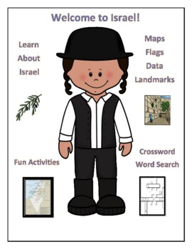 Israel Geography Worksheets & Teaching Resources | TpT