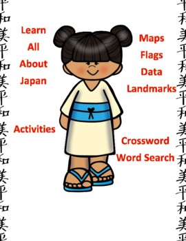 Japan Geography Maps, Flag, Data, Assessment - Map Skills Data Analysis