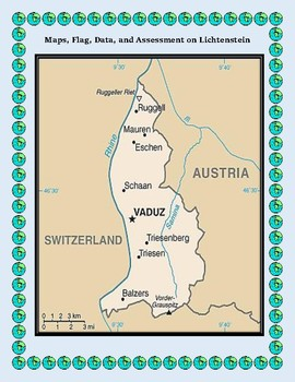 Lichtenstein Geography Maps, Flag, Data, Assessment - Data Analysis