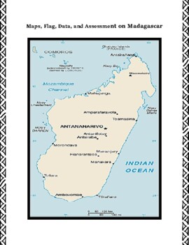 Madagascar Geography Maps, Flag, Data, Assessment - Map Skills Data Analysis