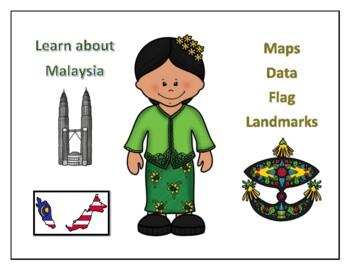Malaysia Geography Maps, Flag, Data, Assessment - Map Skills Data Analysis