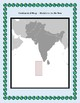 Maldives Geography Maps, Flag, Data, Assessment - Map Skills Data Analysis
