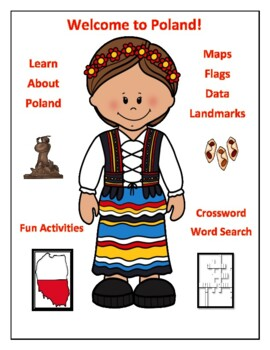 Poland Geography Maps, Flag, Data, Assessment - Map Skills and ...