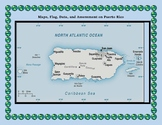 Puerto Rico Geography Maps, Flag, Data, Assessment - Map S