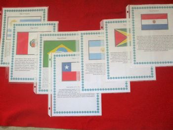 South America Geography Maps, Flag, Data, Bundle Assessment Data Analysis