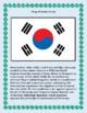 South Korea Geography Maps, Flag, Data, Assessment - Map Skills Data Analysis