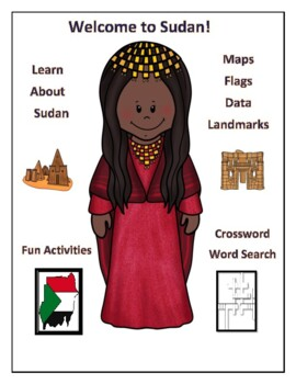 Sudan Geography Maps, Flag, Data, Assessment - Map Skills Data Analysis
