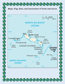 Turks and Caicos Geography Maps, Flag, Data, Assessment - Data Analysis