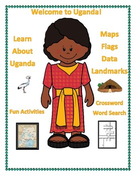 Uganda Geography Maps, Flag, Data, Assessment - Map Skills Data Analysis