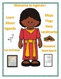 Uganda Geography Maps, Flag, Data, Assessment - Map Skills