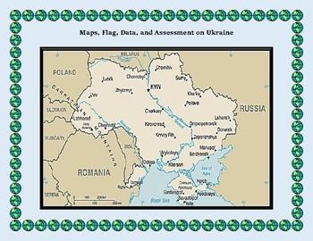 Ukraine Geography Maps, Flag, Data, Assessment - Map Skills Data Analysis