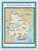 Uruguay Geography Maps, Flag, Data, Assessment - Map Skills Data Analysis