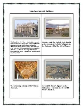 Vatican City Geography Maps, Flag, Data, Assessment - Data Analysis