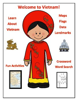 Vietnam Geography Maps, Flag, Data, Assessment - Map Skills Data Analysis