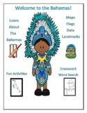 Bahamas Geography Maps, Flag, Data, Assessment - Map Skill