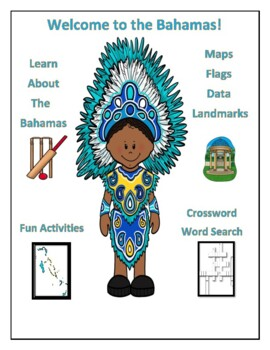 Geography Maps, Flag, Data, Assessment on the Bahamas - Ma