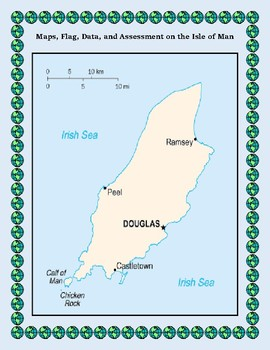 Isle of Man Geography Maps, Flag, Data, Assessment and Data Analysis