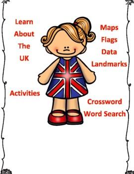 United Kingdom Geography Maps, Flag, Data, Assessment - Data Analysis